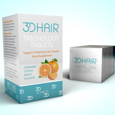 3DHair Tablet Tricology tablets for healthy hair