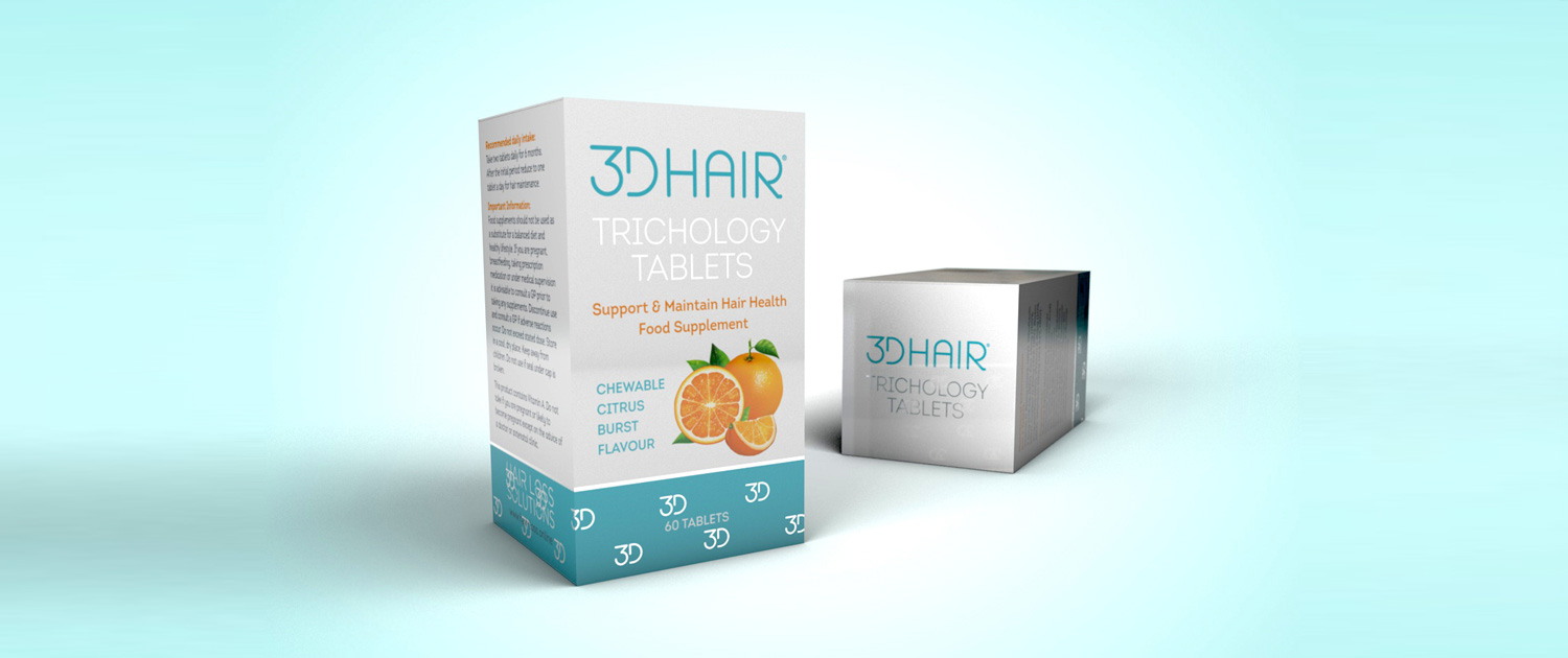 Tricology tablets to support hair health